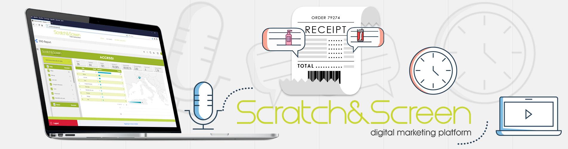 Scratch&Screen: Gli scontrini in gioco